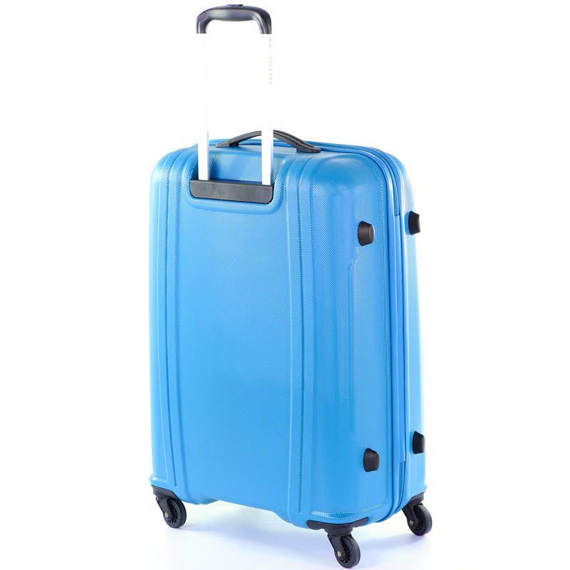 Чемодан 50x70x28см Puccini PC-015 средний голубого цвета