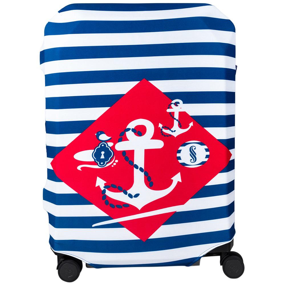 Чехол для чемодана BG Berlin Navy Sense L