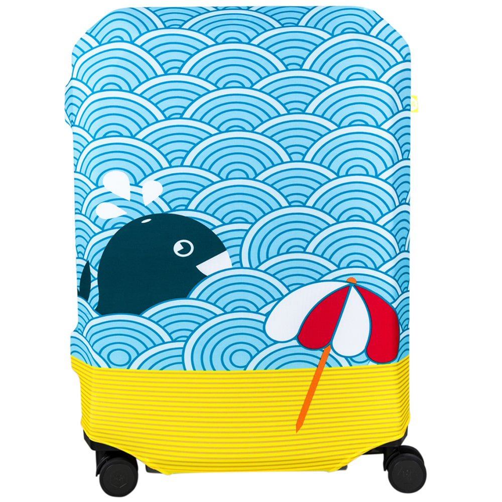 Чехол для чемодана BG Berlin Light Whale L
