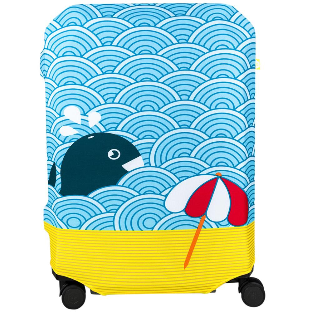 Чехол для чемодана BG Berlin Light Whale S