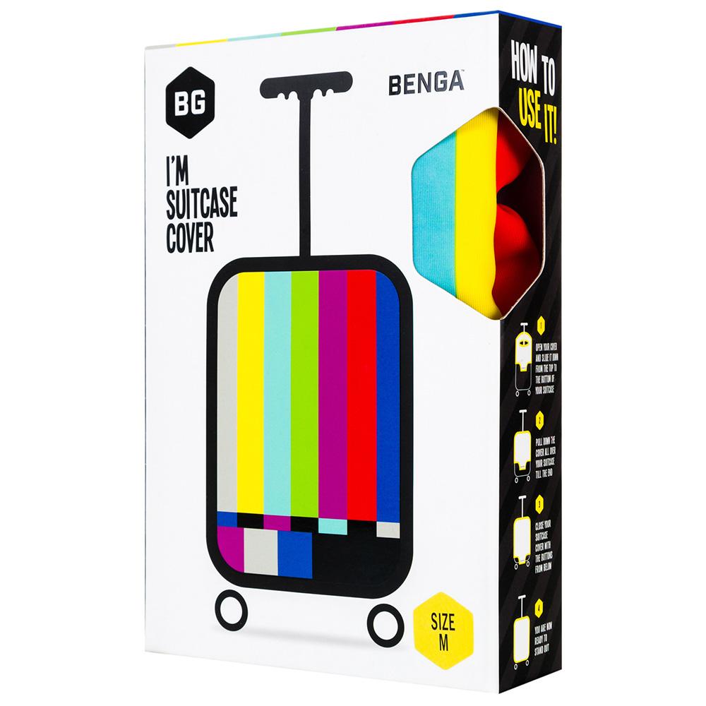 Чехол для чемодана BG Berlin Tv Set L