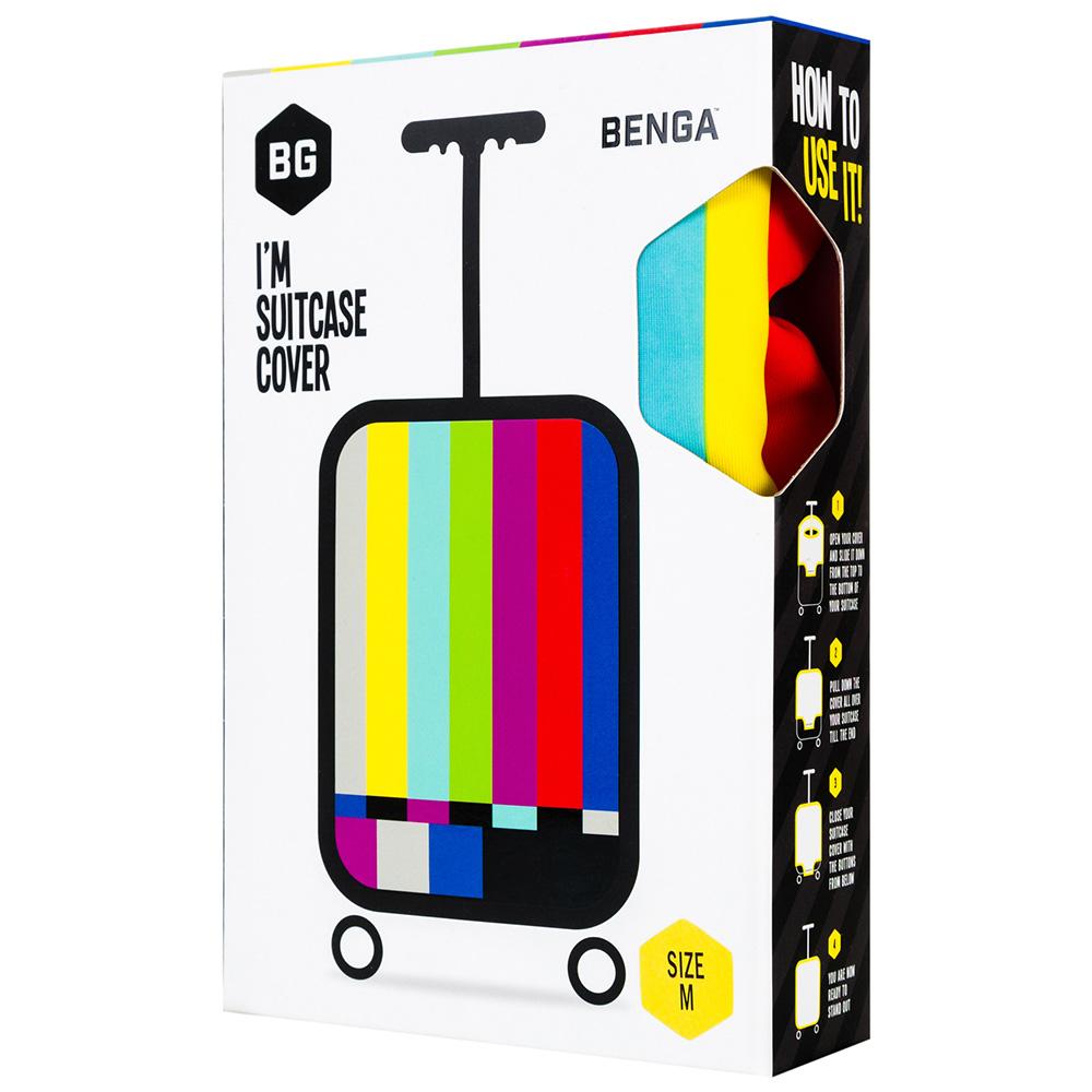 Чехол для чемодана BG Berlin Tv Set S