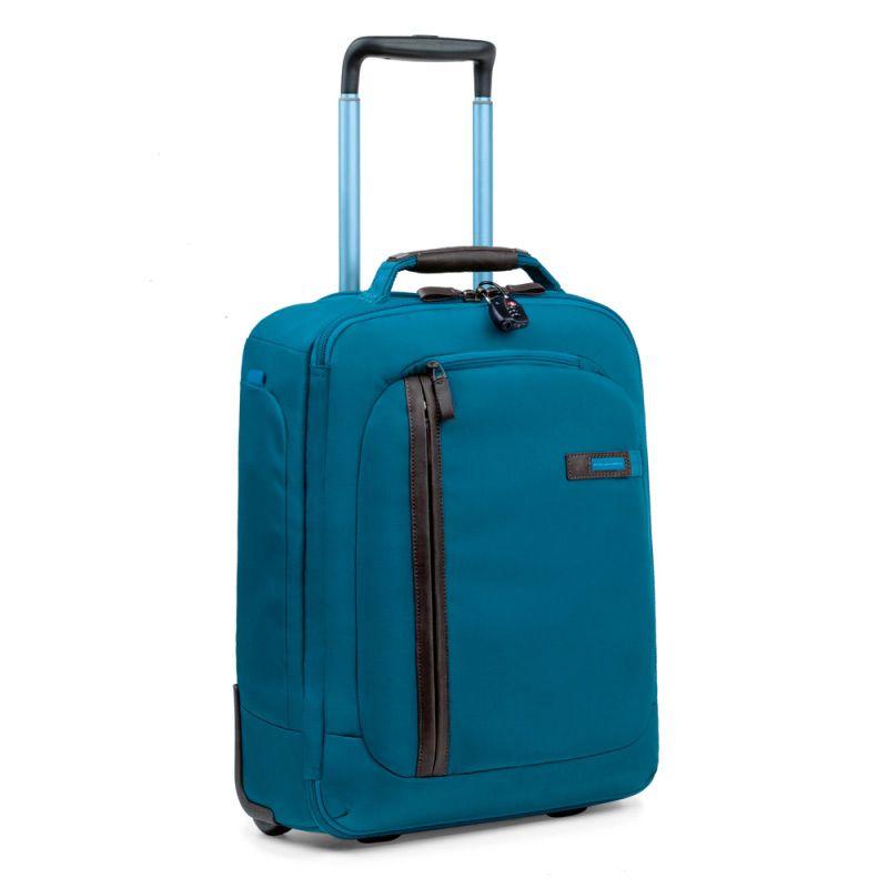 Дорожная сумка Piquadro с тележкой Nimble бирюзовая