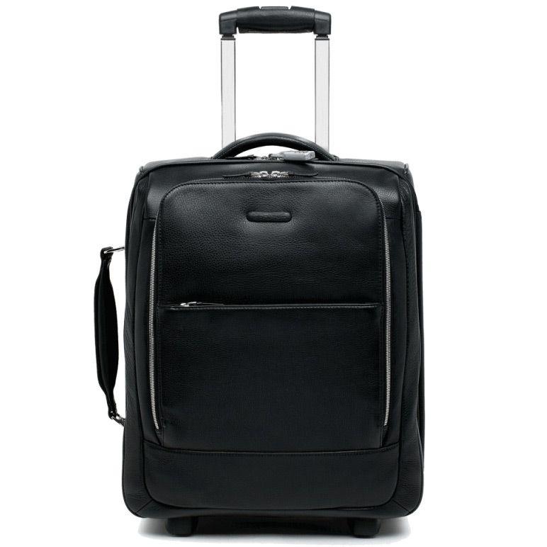 Дорожная сумка Piquadro с отделение для ноутбука Modus черная
