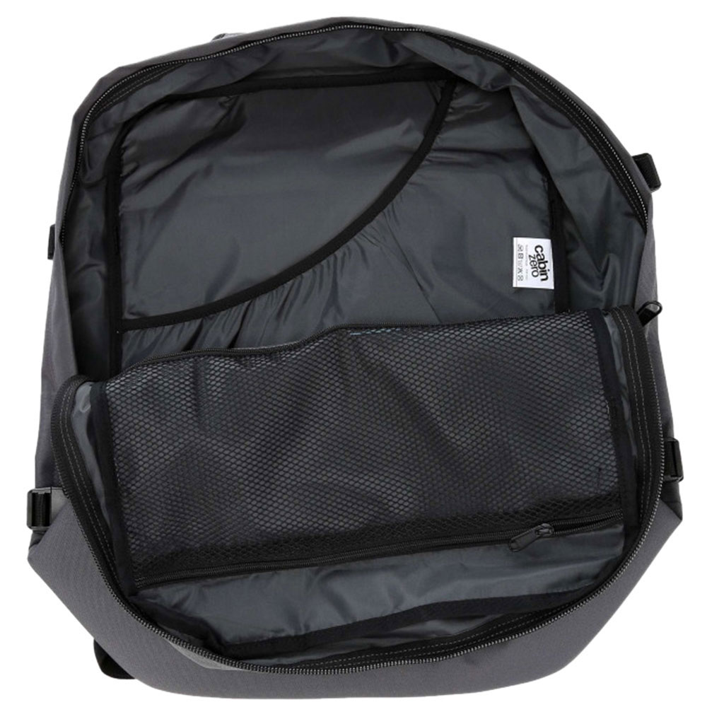 Серая сумка-рюкзак CabinZero 44л