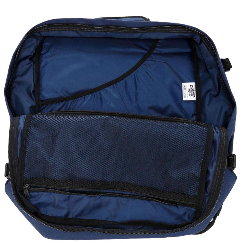 Сумка-рюкзак CabinZero синего цвета 44л