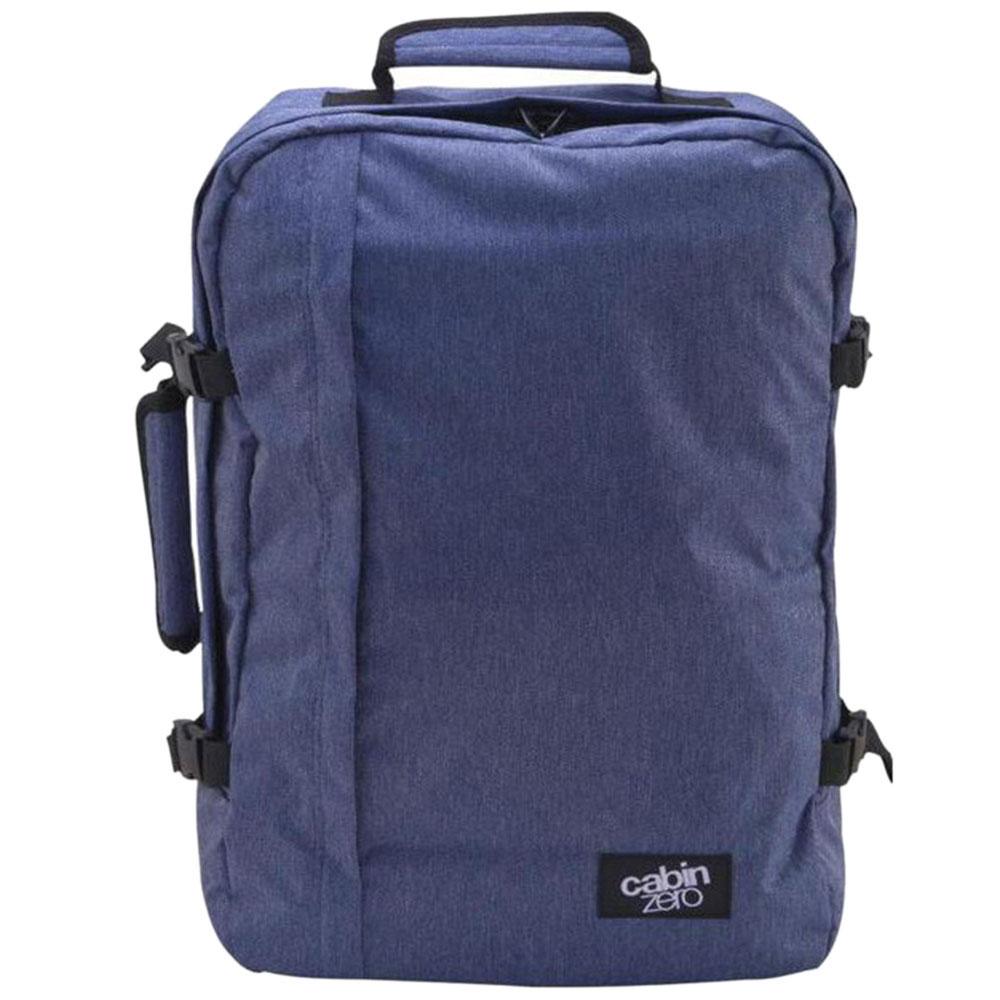 Синяя сумка-рюкзак CabinZero 44л
