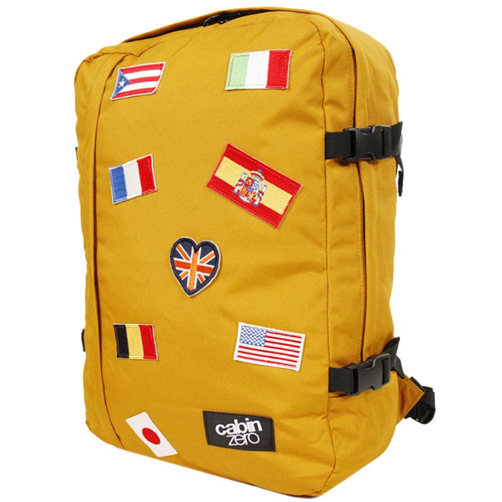 Оранжевая сумка-рюкзак CabinZero 44л