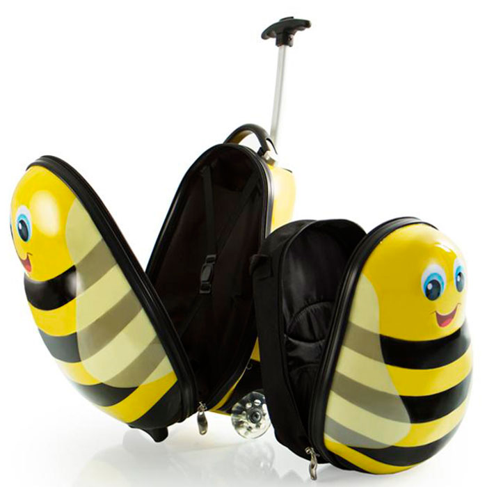 Набор Heys Travel Tots Bumble Bee чемодан и рюкзак