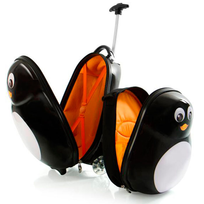 Чемодан детский Heys Travel Tots Penguin с рюкзаком