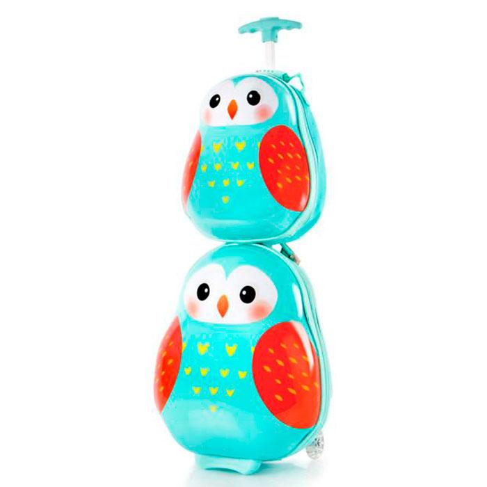 Набор детский Heys Travel Tots Owl чемодан и рюкзак