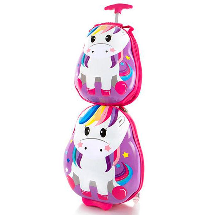 Детский чемодан Heys Travel Tots Unicorn с рюкзаком