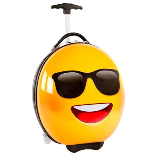 Чемодан для детей Heys E-motion Sunglasses желтого цвета