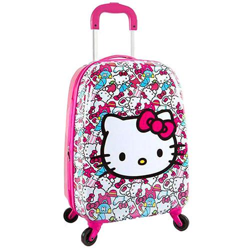 Чемодан детский Heys Sanrio Hello Kitty в розовом цвете