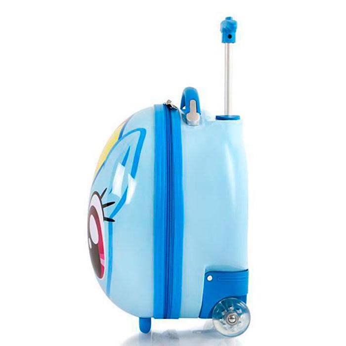 Детский чемодан Heys Hasbro My Little Pony голубого цвета