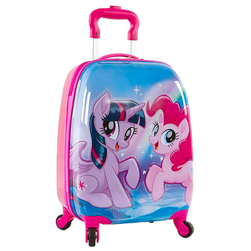 Розовый чемодан Heys Hasbro My Little Pony среднего размера
