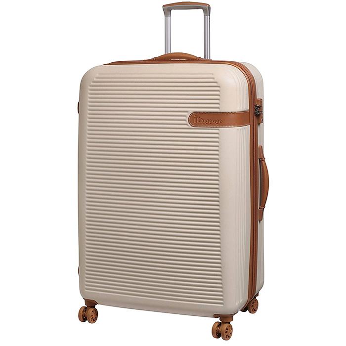 Бежевый чемодан IT Luggage Valiant Cream 81х56х34см