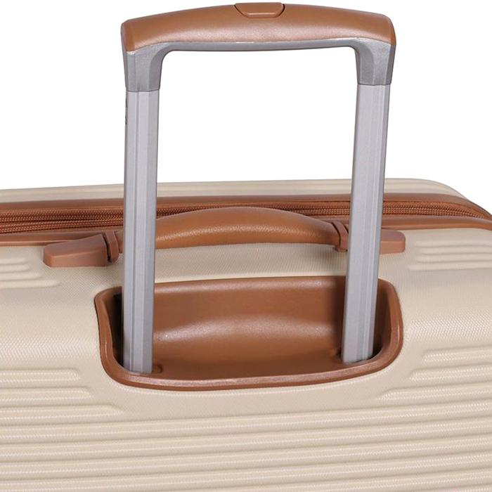 Бежевый чемодан IT Luggage Valiant Cream 71х49х30см