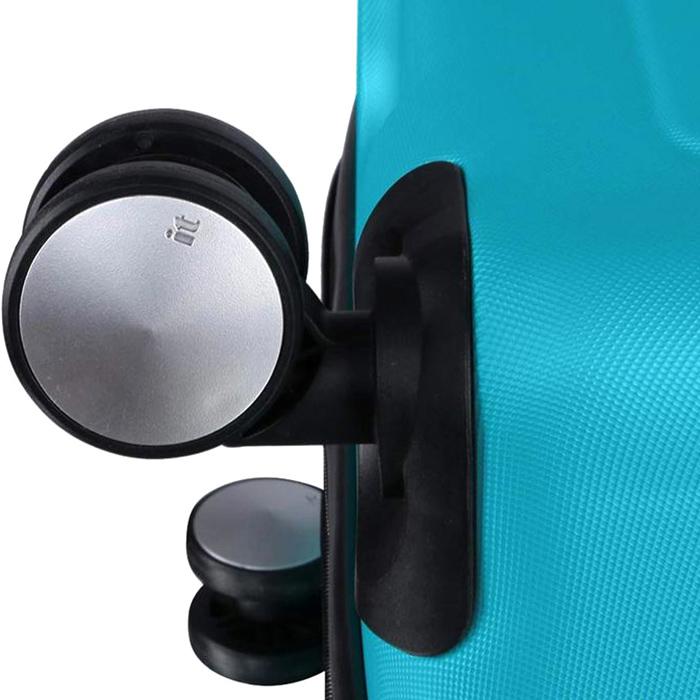 Голубой чемодан IT Luggage Mesmerize Aquamic 81х55х34см