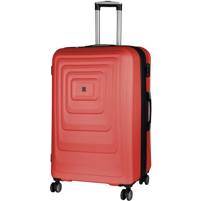 Красный чемодан IT Luggage Mesmerize Cayenne 72х48х30см