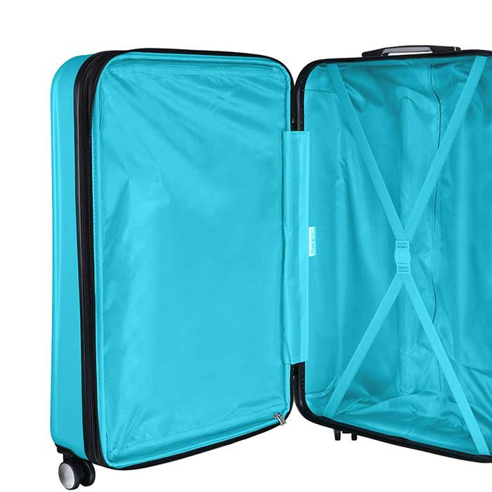 Голубой чемодан IT Luggage Mesmerize Aquamic 55х36х26см