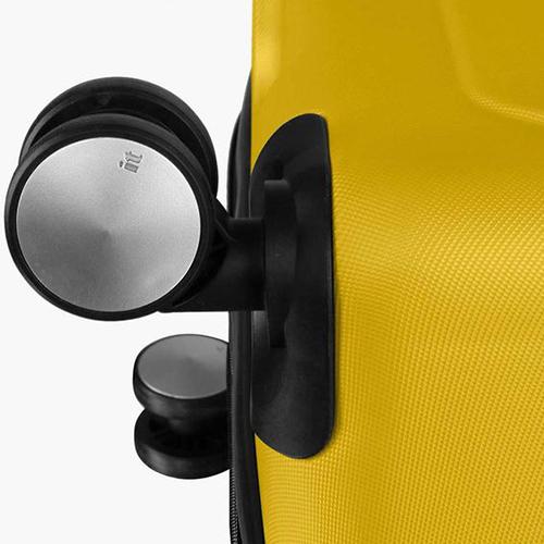 Желтый чемодан IT Luggage Mesmerize Old Gold 55х36х26см