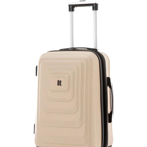 Бежевый чемодан IT Luggage Mesmerize Cream 55х36х26см