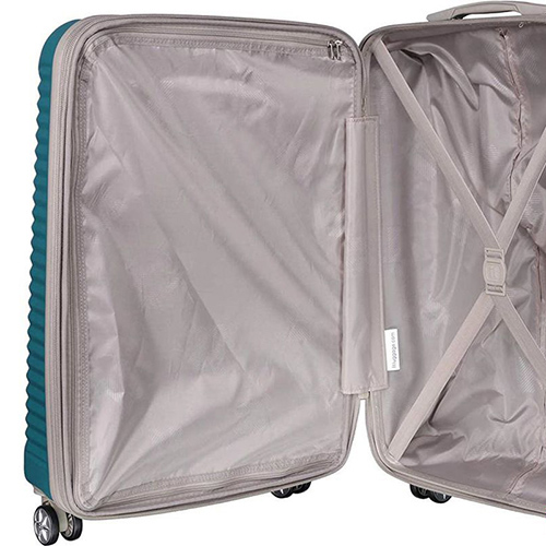 Голубой чемодан IT Luggage Outlook Bayou 81х55х34см