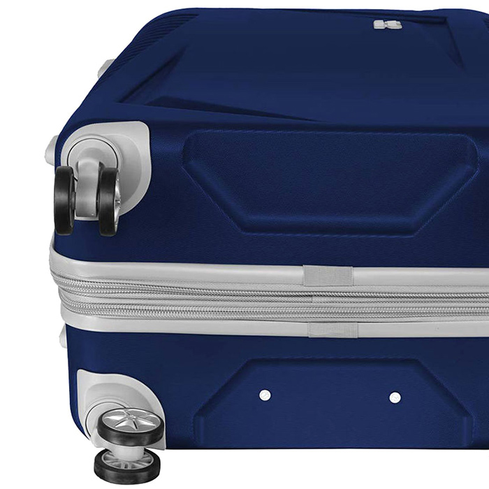 Синий чемодан IT Luggage Outlook Dress Blues 71х49х29см