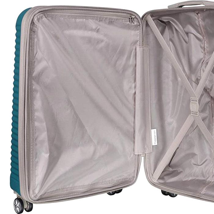 Голубой чемодан IT Luggage Outlook Bayou 55х35х23см
