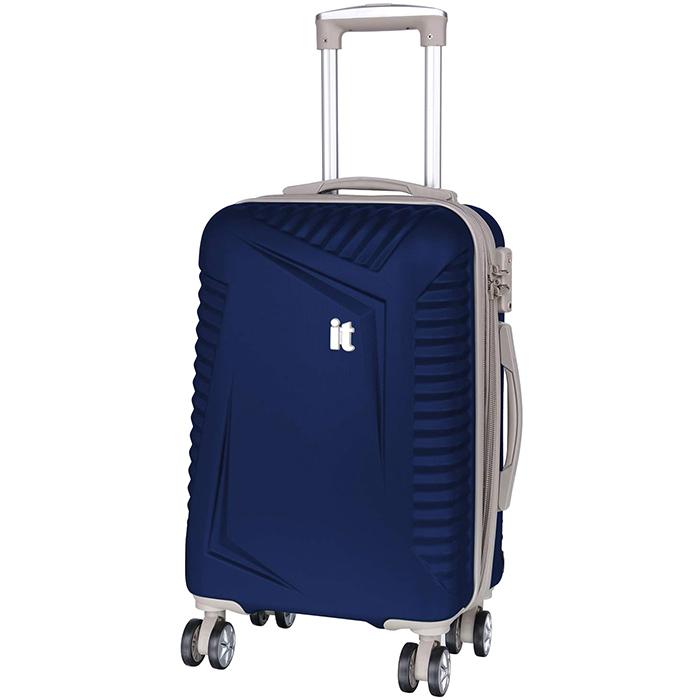Синий чемодан IT Luggage Outlook Dress Blues 55х35х23см