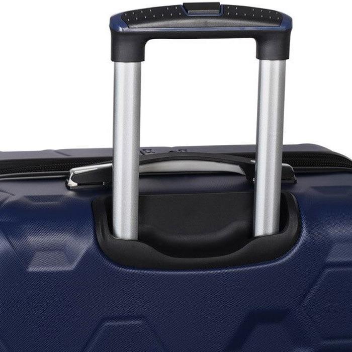 Синий чемодан IT Luggage Hexa Blue Depths 81х55х34см