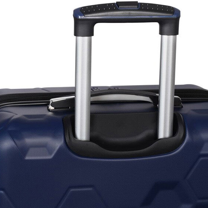 Синий чемодан IT Luggage Hexa Blue Depths 71х49х29см