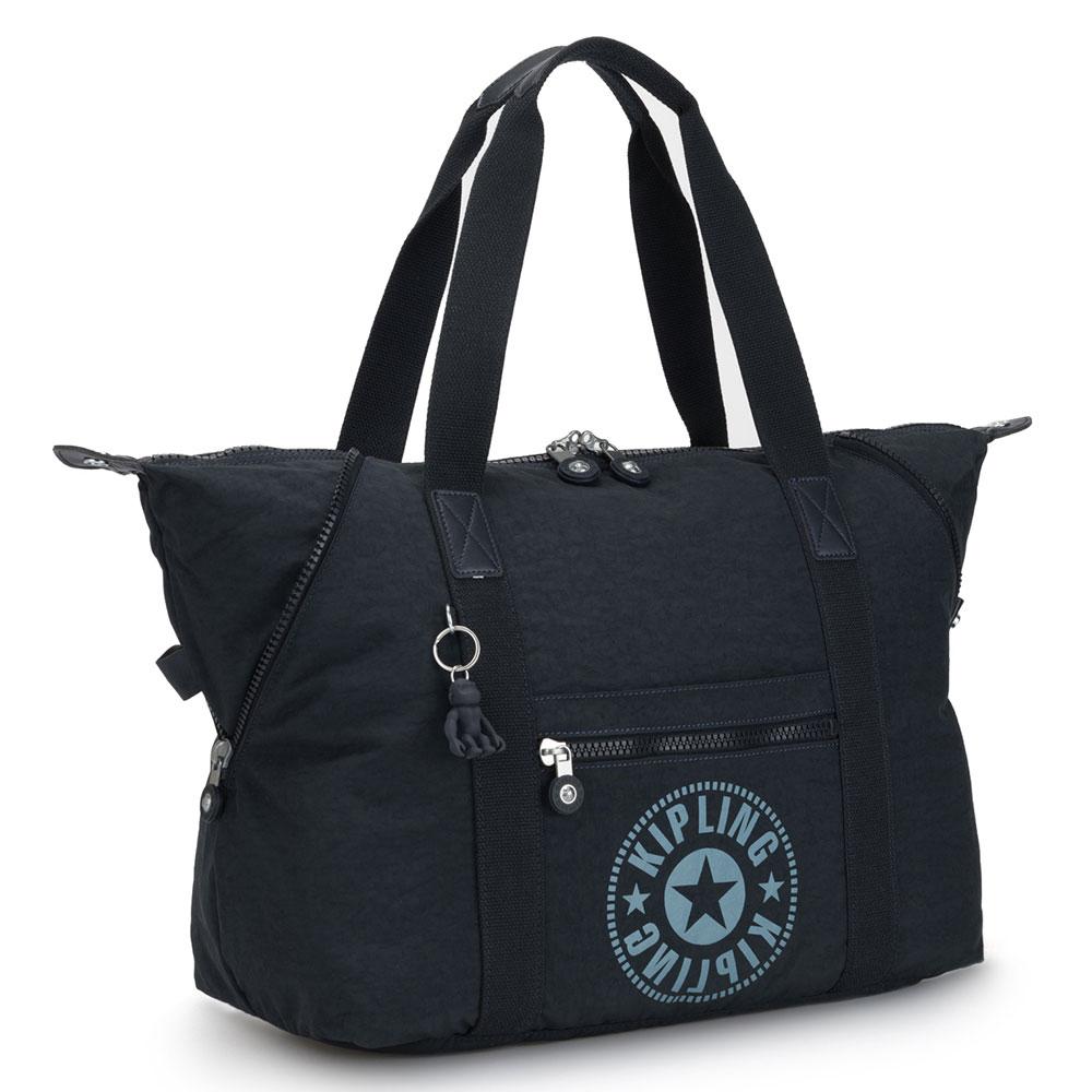 Женская сумка Kipling Art M синего цвета