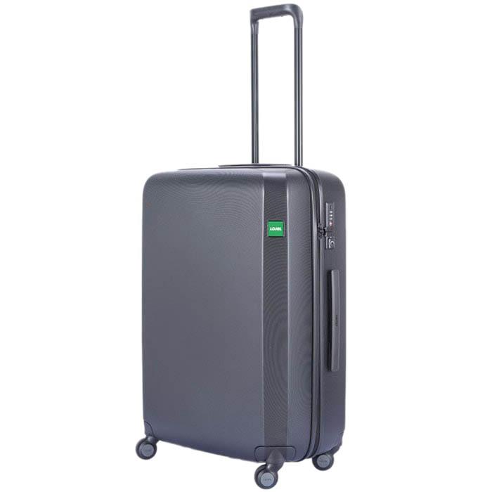 Средний компактный чемодан 47x67,5x27см Lojel Rando с прорезинеными колесиками и замком