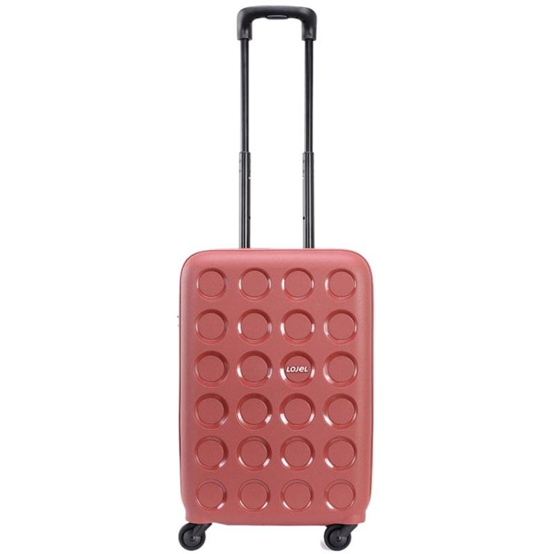 Маленький чемодан 36х54,8х24,7см Lojel Vita размера ручной клади красного цвета