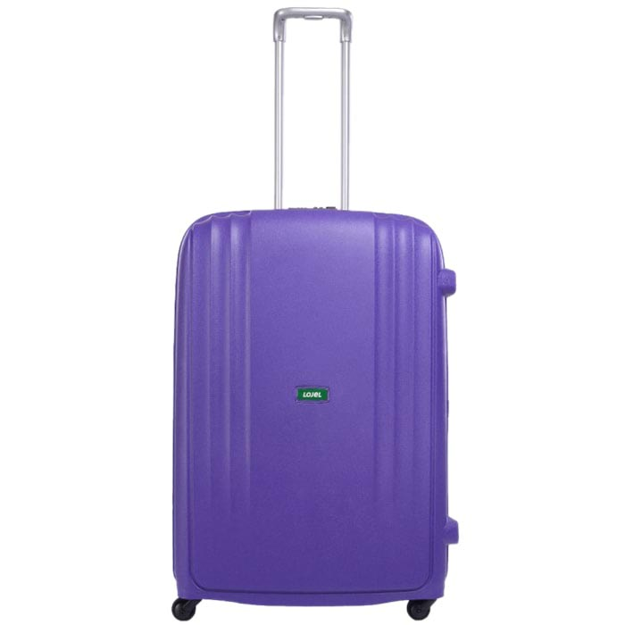 Дорожный фиолетовый чемодан 56x82,5x32см Lojel Streamline очень большого размера