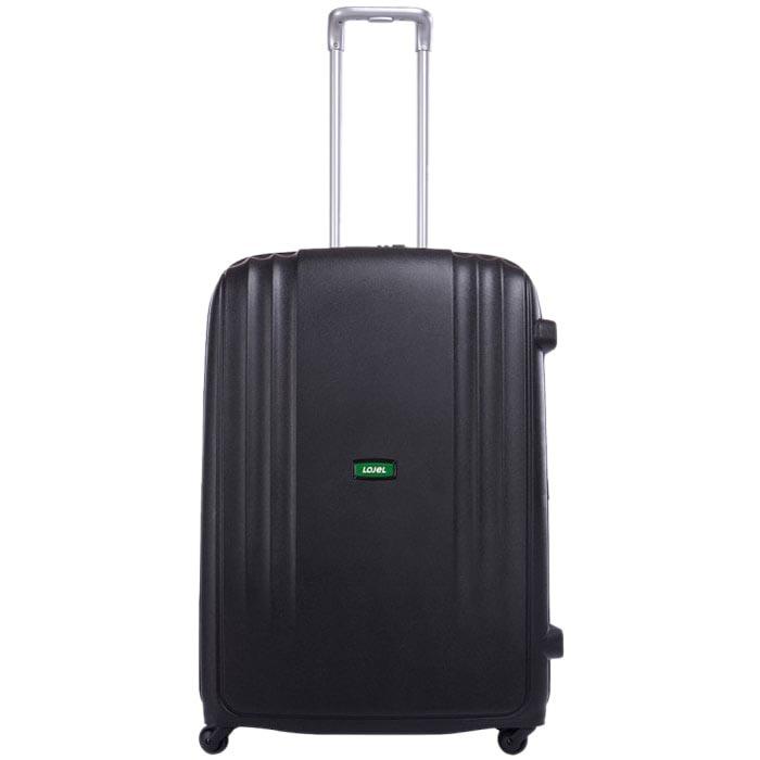 Черный большой чемодан 49х71х29,2см Lojel Streamline на 4 колесах