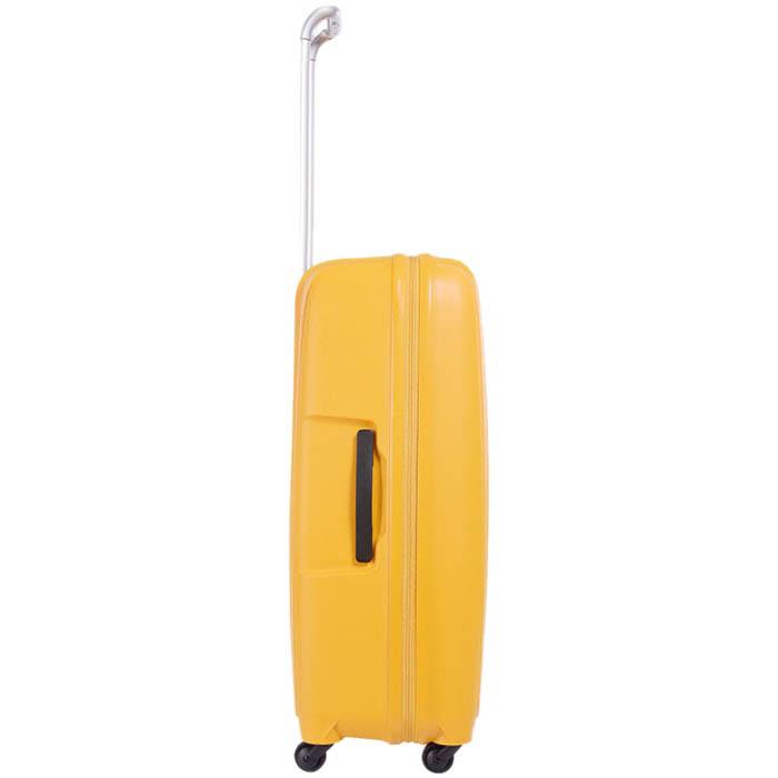 Большой чемодан 49х71х29,2см Lojel Streamline на колесиках желтого цвета
