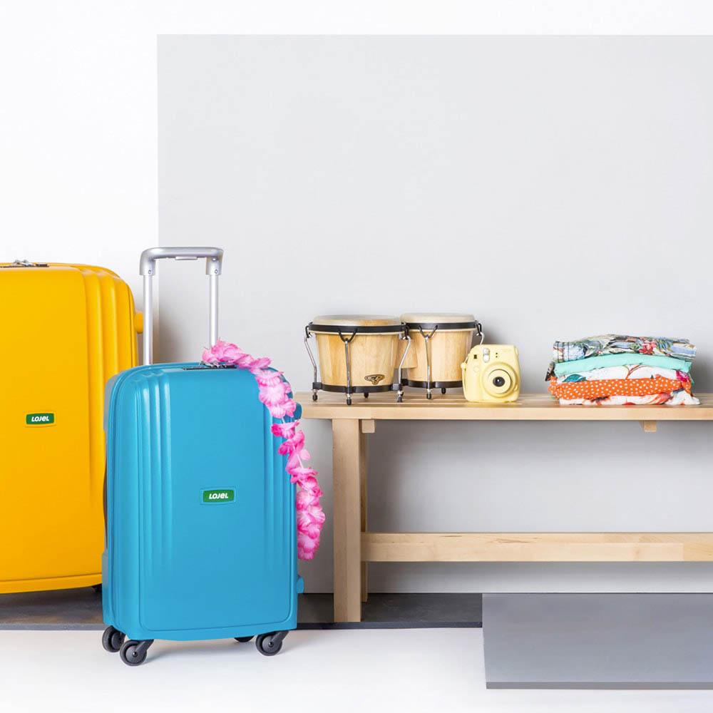 Дорожный чемодан 35х55х23,5см Lojel Streamline с выдвижной ручкой размера ручной клади