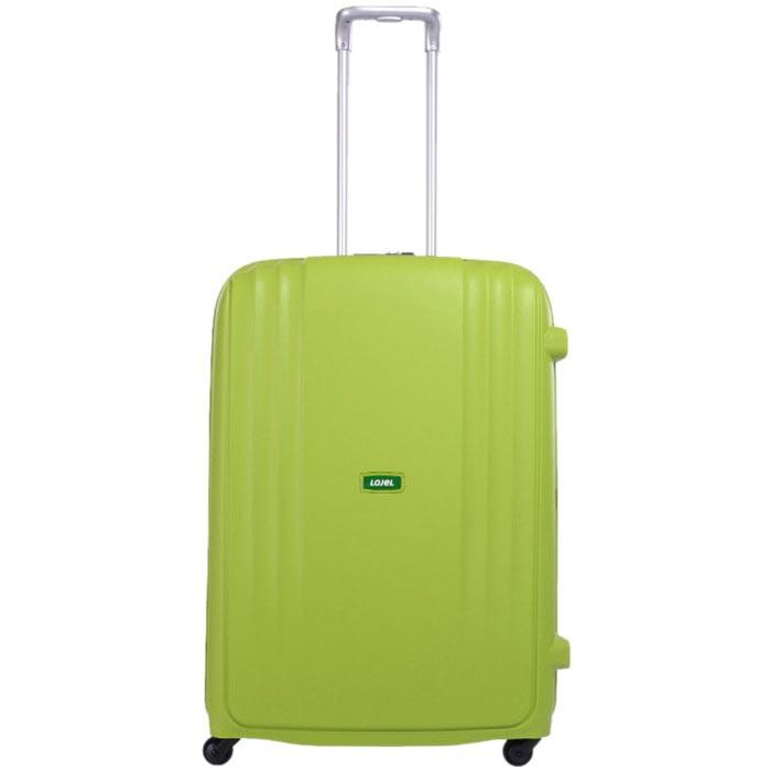 Зеленый чемодан 35х55х23,5см Lojel Streamline размера ручной клади на колесиках