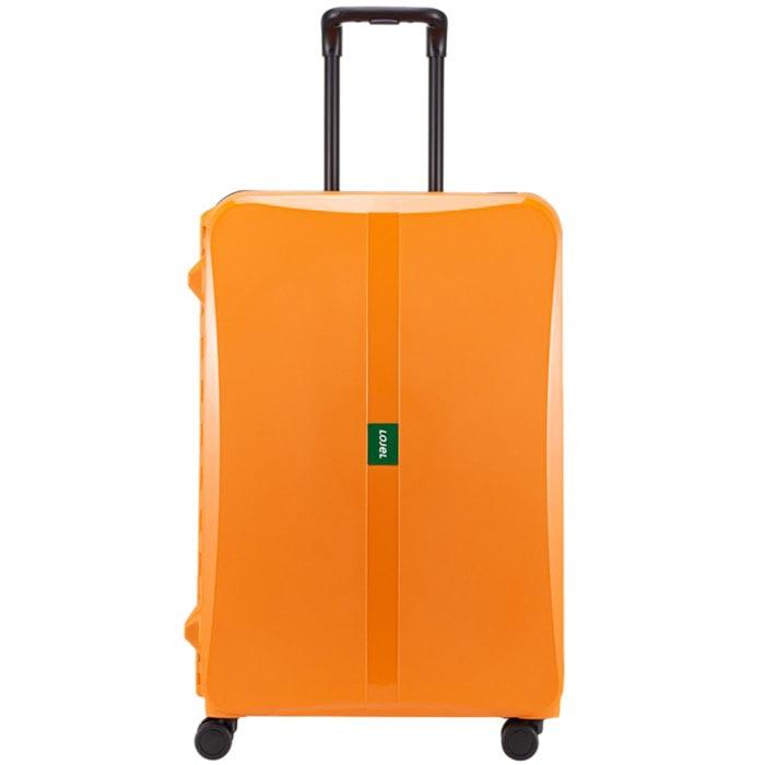Большой дорожный чемодан 51,3х75,4х30,6см Lojel Octa 2 оранжевого цвета на 4 защелках
