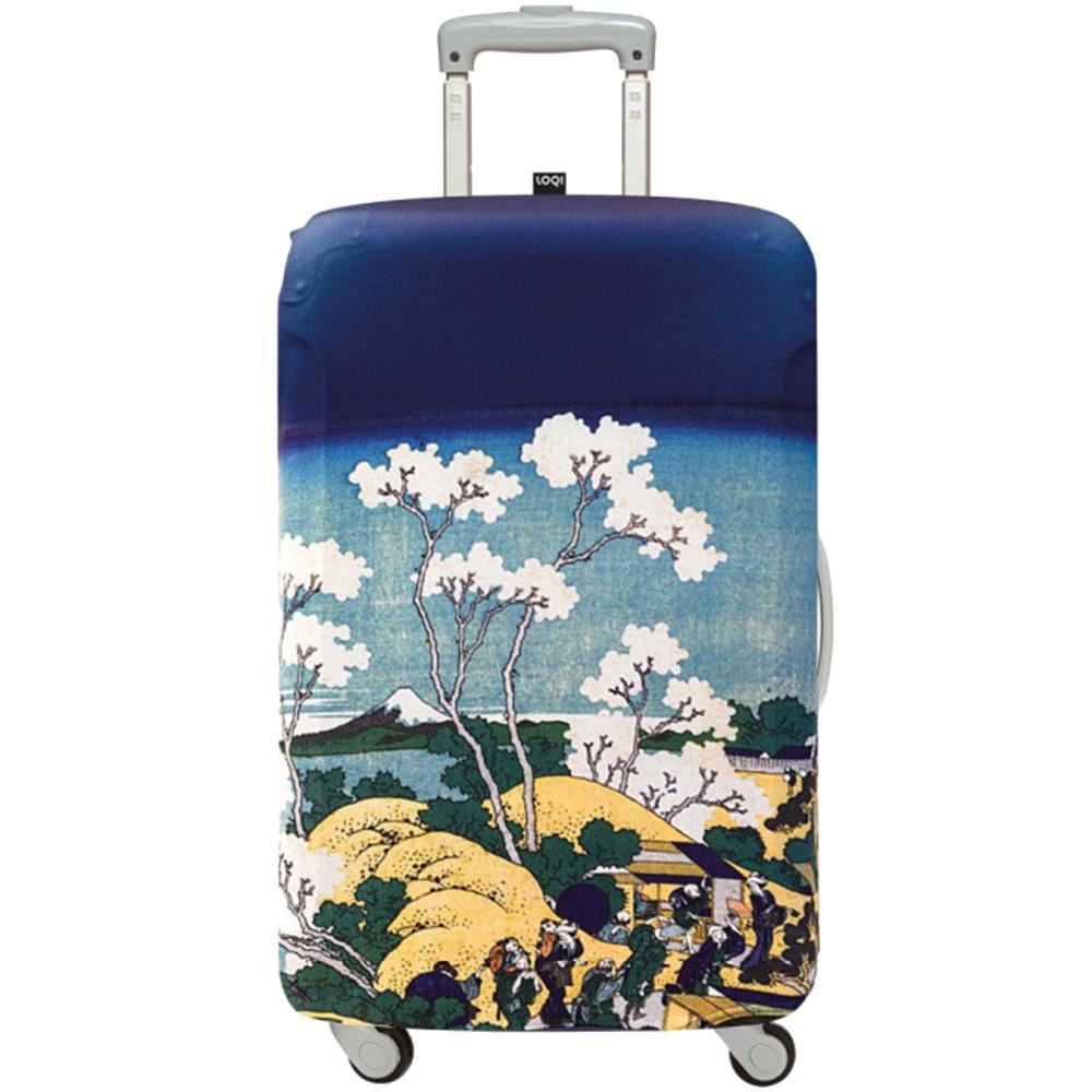 Чехол на чемодан Loqi Museum Hokusai Fuji from Gotenyama Medium