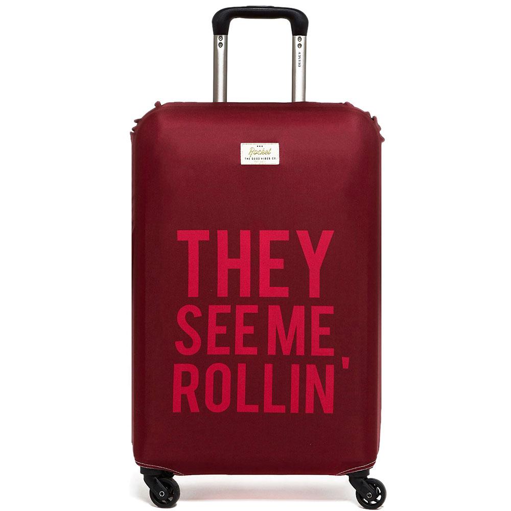 Чехол для чемодана Rocket They See Me Rollin