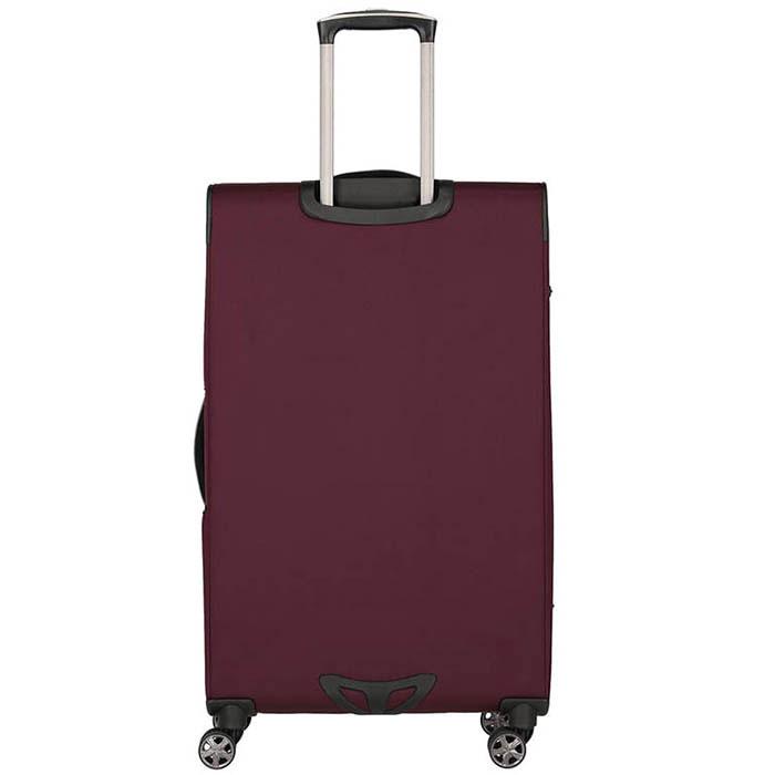 Большой чемодан 47x79x31-35см Titan Nonstop бордовый