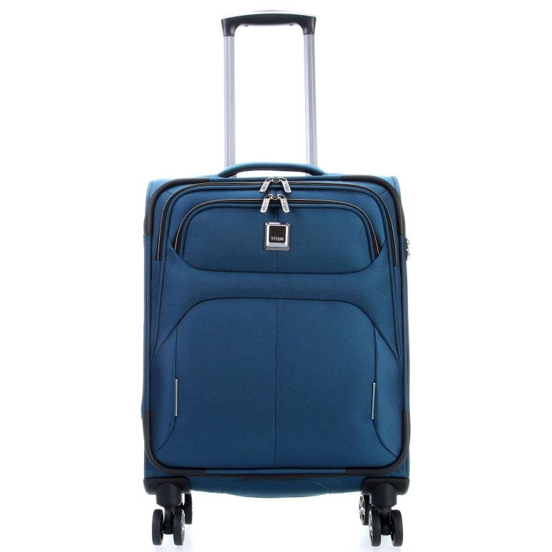 Маленький чемодан 39x55x20см Titan Nonstop синий