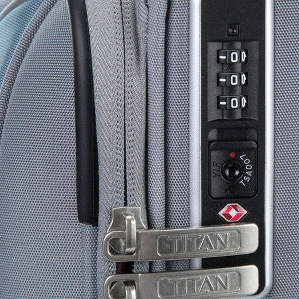 Малый чемодан 40x55x21см Titan Spotlight Soft на колесах