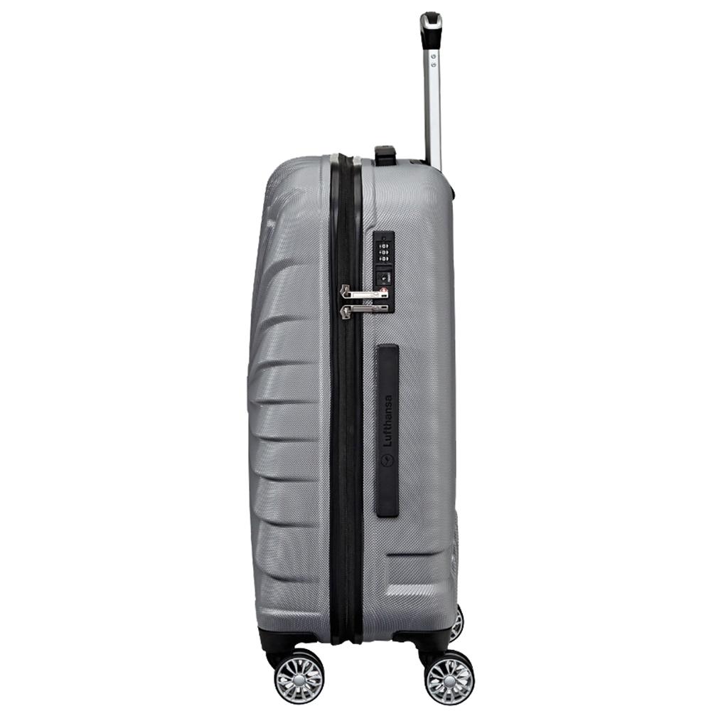 Большой водонепроницаемый чемодан 74x53х29см Titan Triport серого цвета