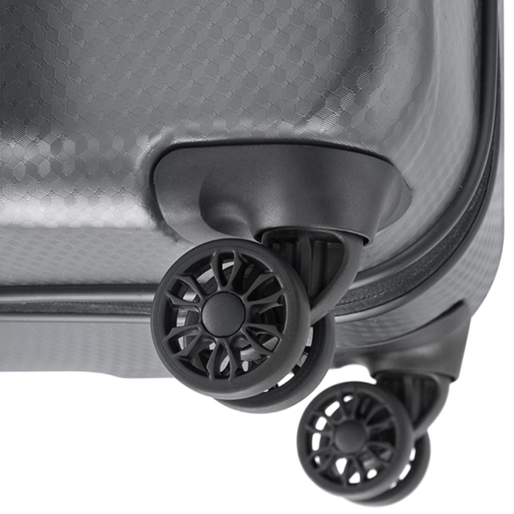 Чемодан графитового цвета 74x53х31см Titan Xenon Deluxe с ударостойким корпусом