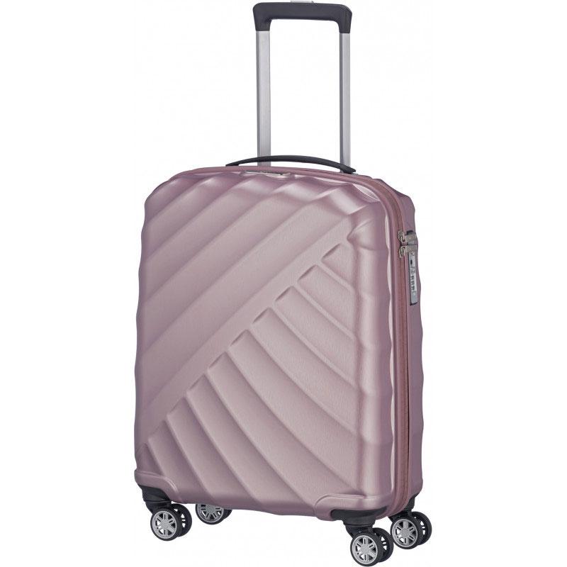 Маленький чемодан 40x55x20см Titan Shooting Star розовый